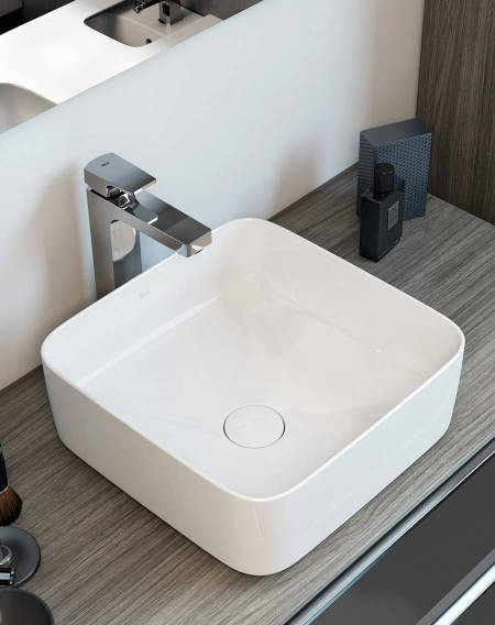 Inspira basin by Roca made in Fineceramic®