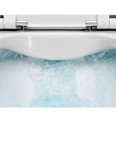 Toilet with Rimless techonology by Roca